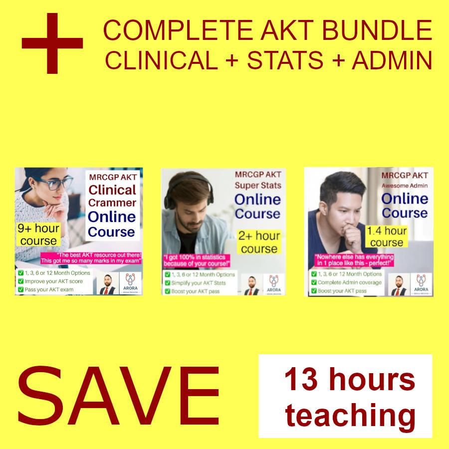 akt trio - MRCGP CSA, AKT and PLAB Exam Courses and Online Webinars - Arora Medical Education
