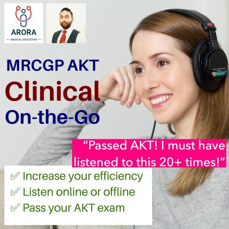 akt clinical audiobook cover image