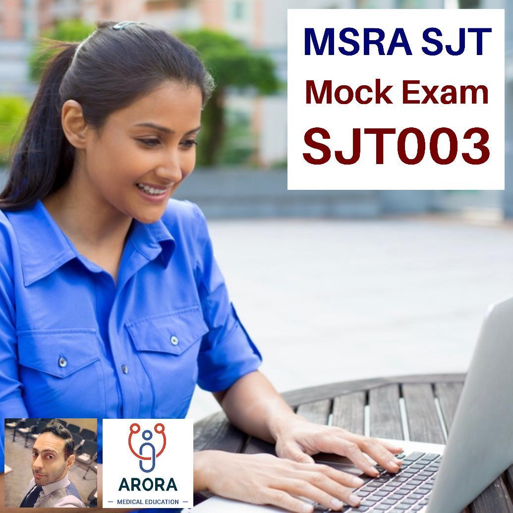 MSRASJT3 - MRCGP CSA, AKT and PLAB Exam Courses and Online Webinars - Arora Medical Education