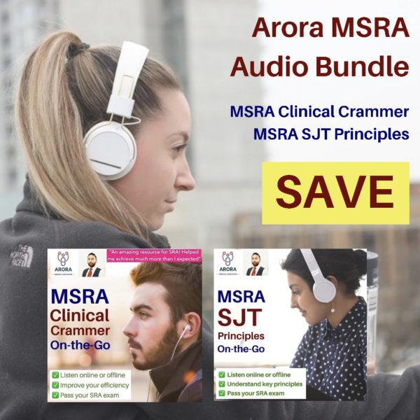 msra audio bundle new - MRCGP CSA, AKT and PLAB Exam Courses and Online Webinars - Arora Medical Education