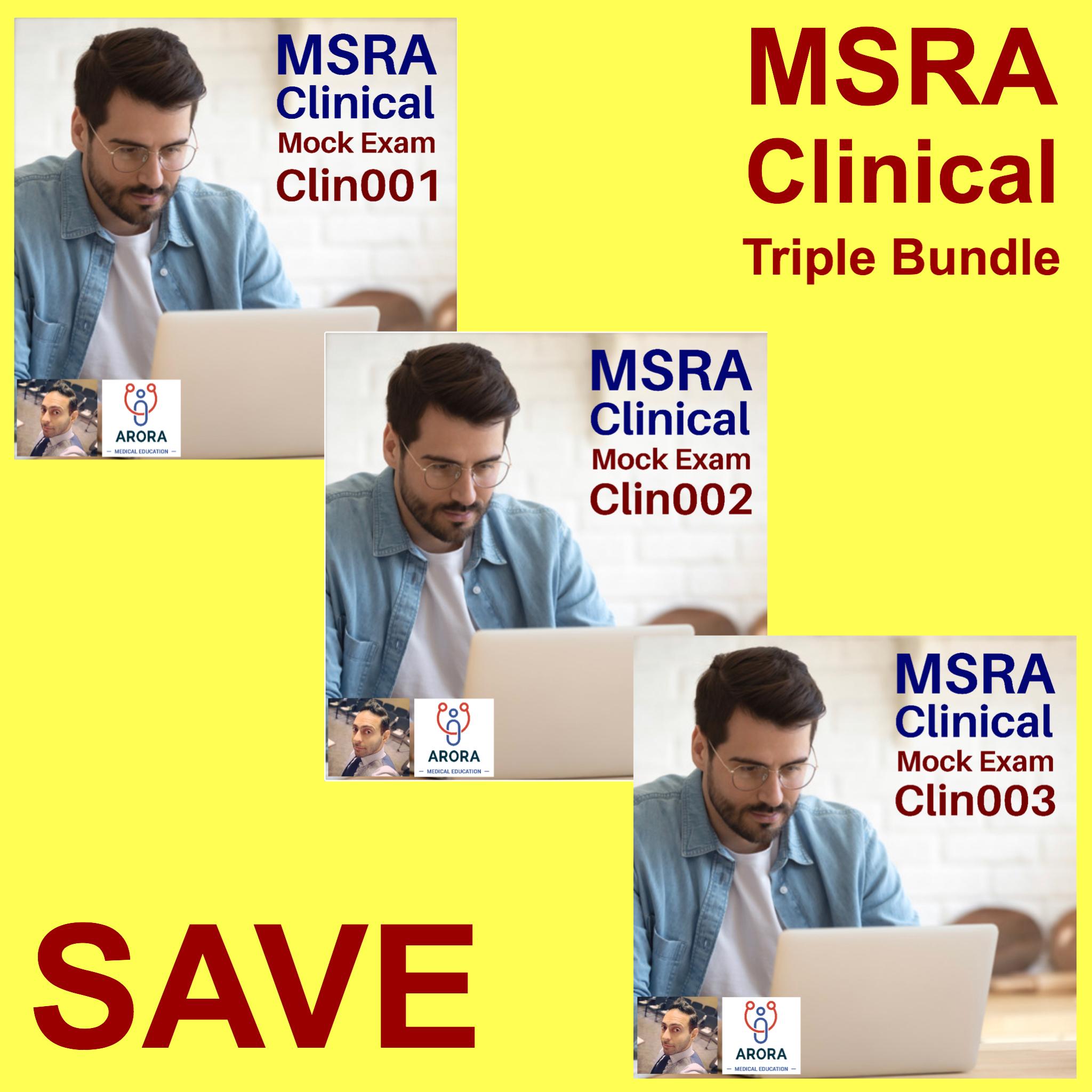 MSRAClinBndl - MRCGP CSA, AKT and PLAB Exam Courses and Online Webinars - Arora Medical Education