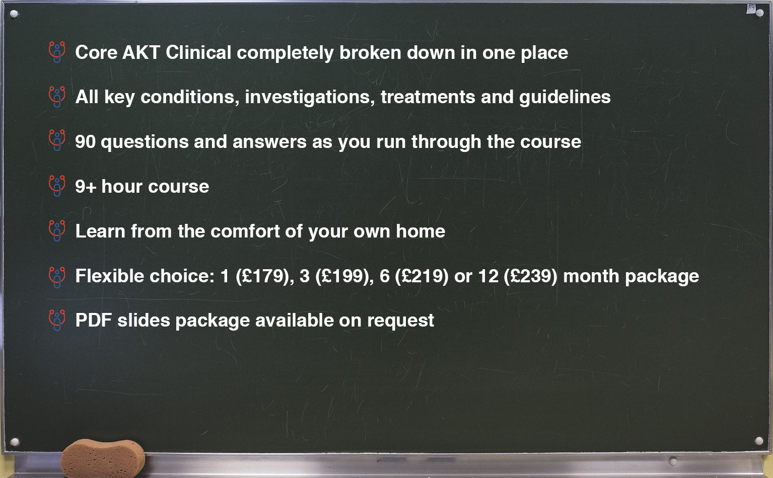 AKT Clinical Crammer Online Course 1 - MRCGP CSA, AKT and PLAB Exam Courses and Online Webinars - Arora Medical Education