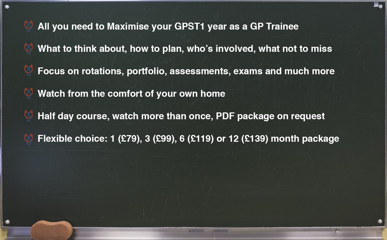 GPST1 Trainee Max Online Course 1 - MRCGP CSA, AKT and PLAB Exam Courses and Online Webinars - Arora Medical Education