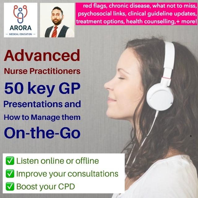 advanced nurse - MRCGP CSA, AKT and PLAB Exam Courses and Online Webinars - Arora Medical Education