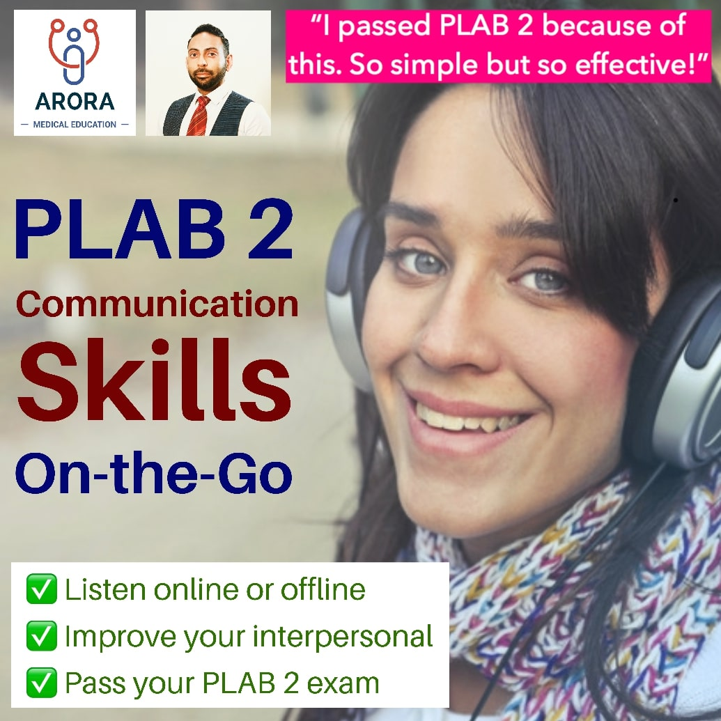plab2 skills on the go - MRCGP CSA, AKT and PLAB Exam Courses and Online Webinars - Arora Medical Education