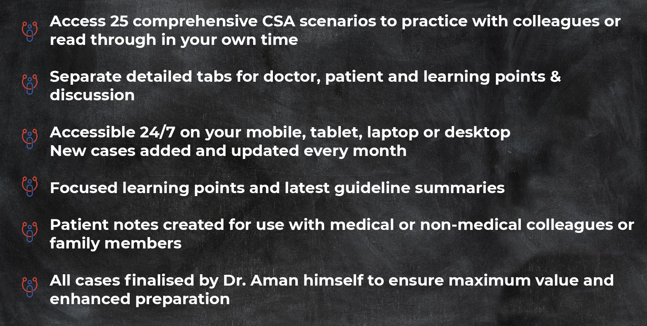 csa details - MRCGP CSA, AKT and PLAB Exam Courses and Online Webinars - Arora Medical Education