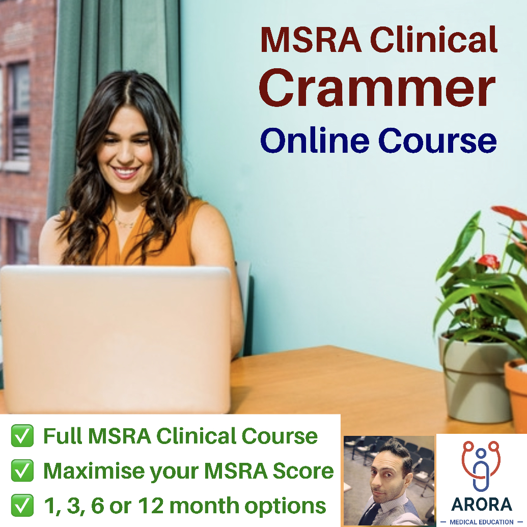 msra clinical crammer online course - MRCGP CSA, AKT and PLAB Exam Courses and Online Webinars - Arora Medical Education