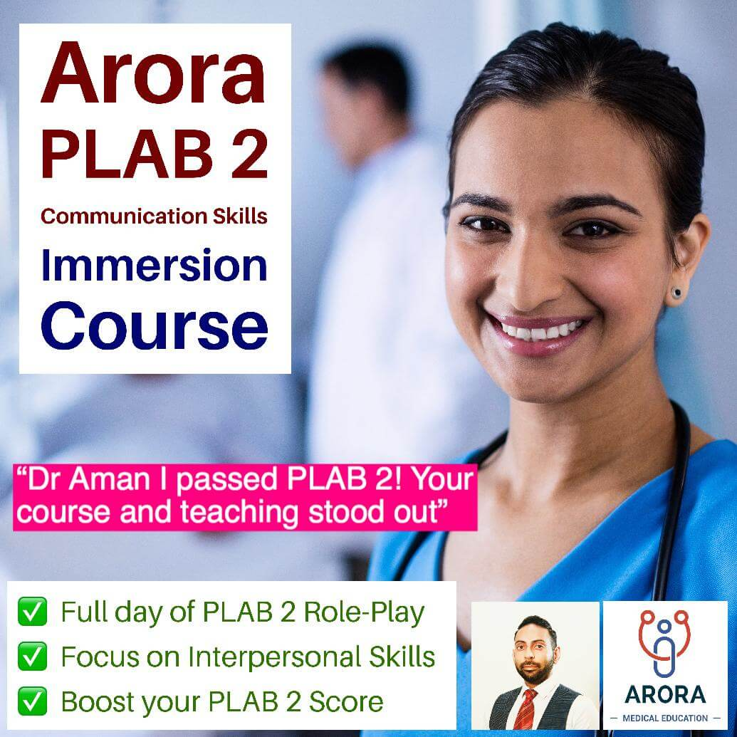 plab2 comm - MRCGP CSA, AKT and PLAB Exam Courses and Online Webinars - Arora Medical Education