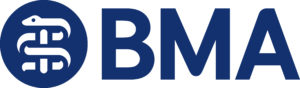 BMA Dual Brandmark Master RGB - MRCGP CSA, AKT and PLAB Exam Courses and Online Webinars - Arora Medical Education