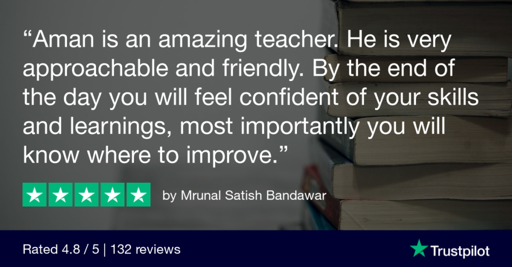 Trustpilot Review Mrunal Satish Bandawar - MRCGP CSA, AKT and PLAB Exam Courses and Online Webinars - Arora Medical Education