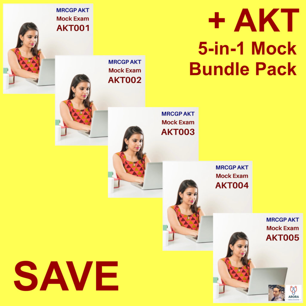 AKT 5in1 bundle - MRCGP CSA, AKT and PLAB Exam Courses and Online Webinars - Arora Medical Education