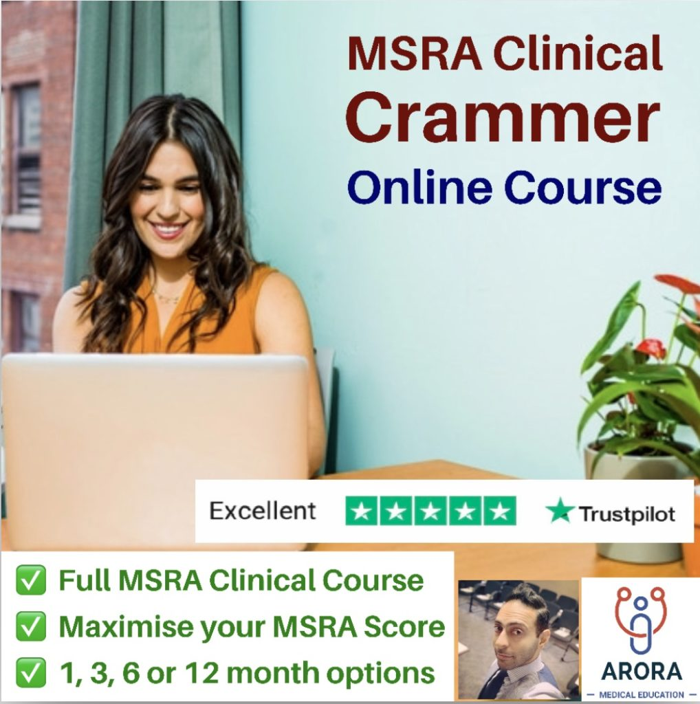 Clinical Crammer Online 2 - MRCGP CSA, AKT and PLAB Exam Courses and Online Webinars - Arora Medical Education