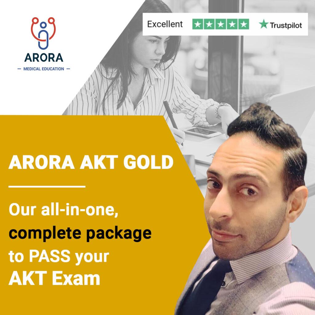 1621953225 gold - MRCGP CSA, AKT and PLAB Exam Courses and Online Webinars - Arora Medical Education