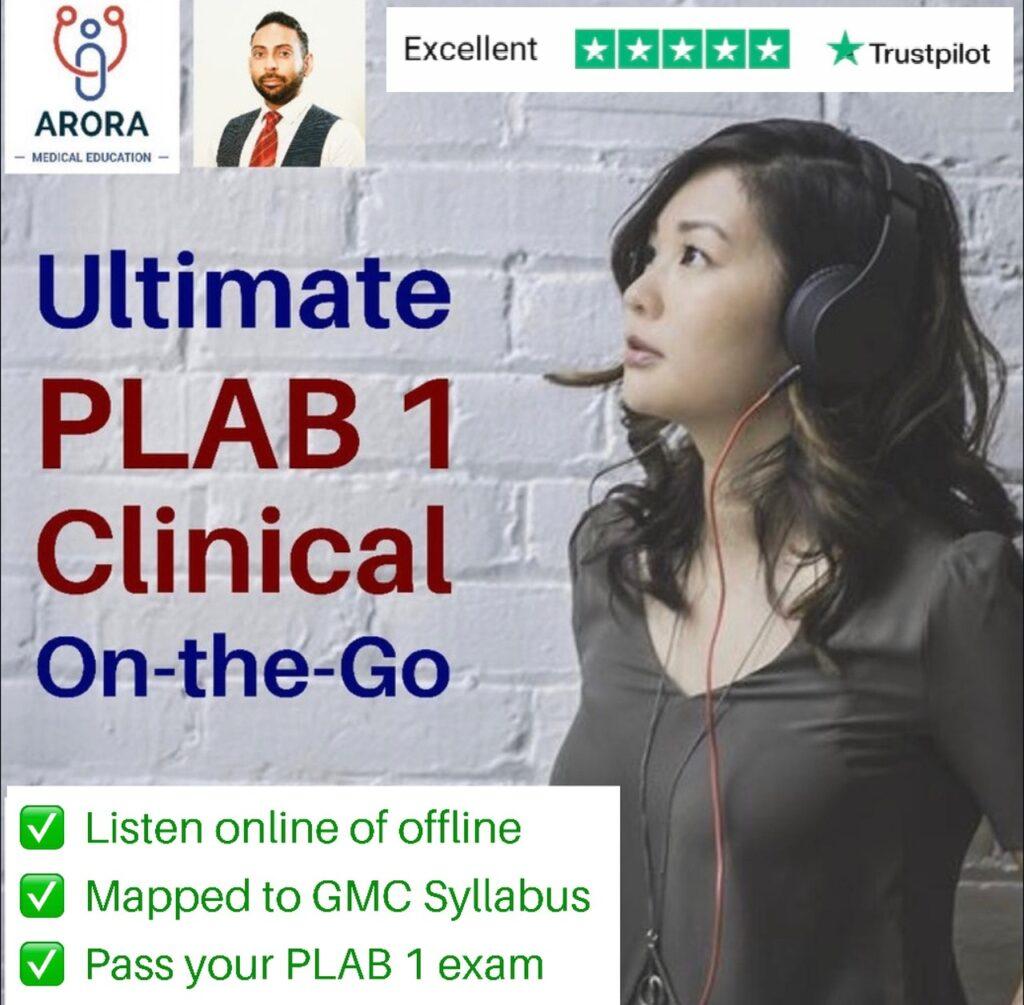 PLAB1 on the go - MRCGP CSA, AKT and PLAB Exam Courses and Online Webinars - Arora Medical Education