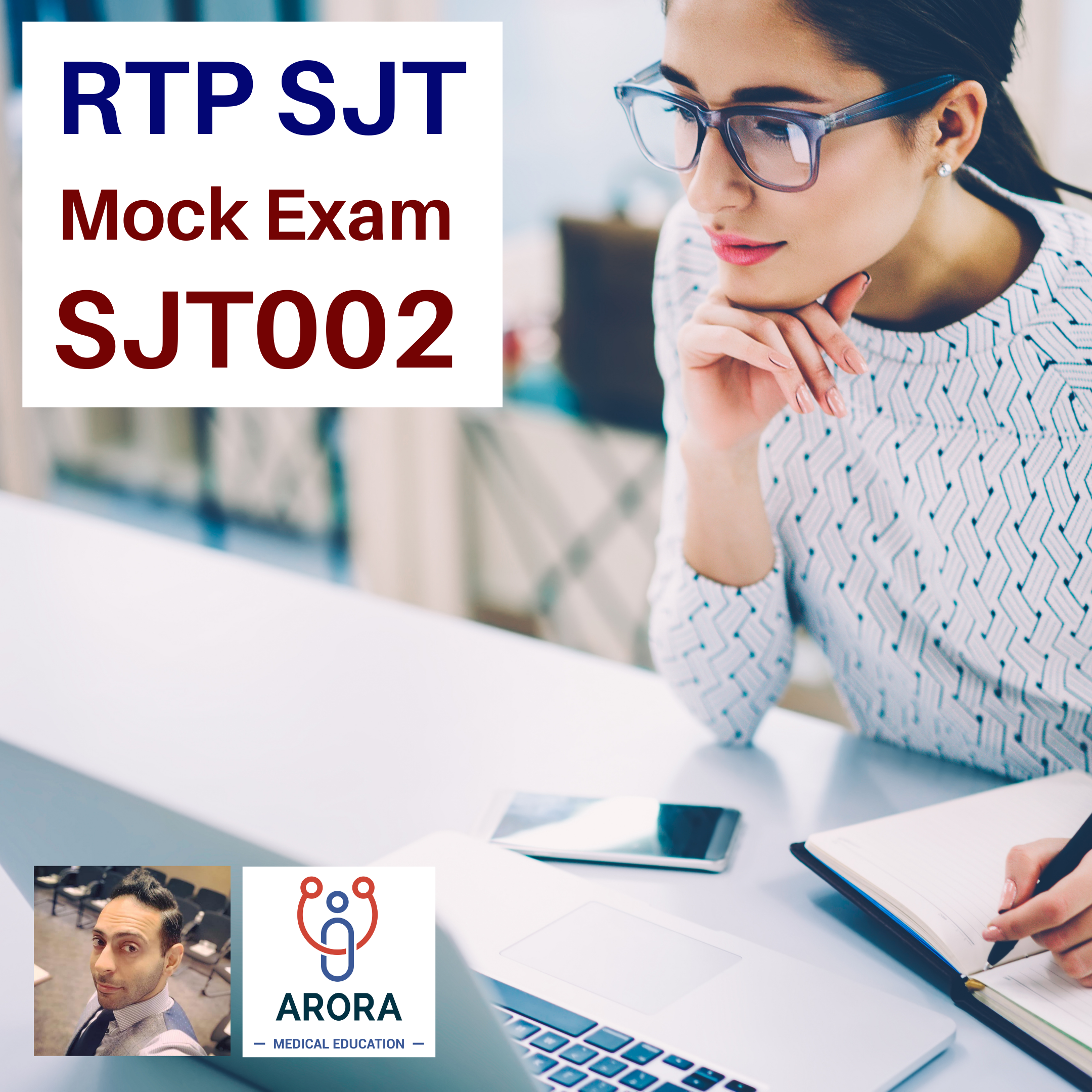 RTP SJT 002 - MRCGP CSA, AKT and PLAB Exam Courses and Online Webinars - Arora Medical Education