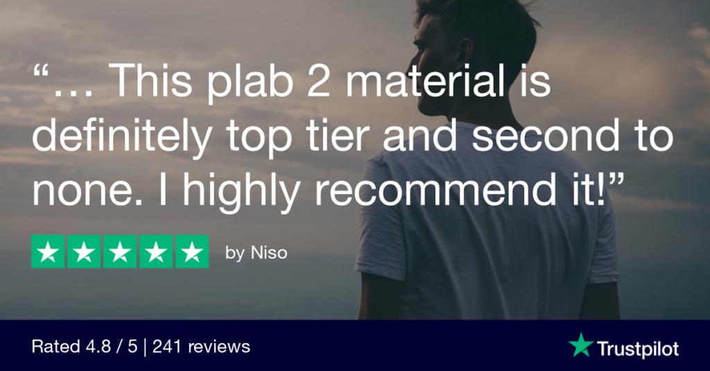 Trustpilot Review Niso - MRCGP CSA, AKT and PLAB Exam Courses and Online Webinars - Arora Medical Education