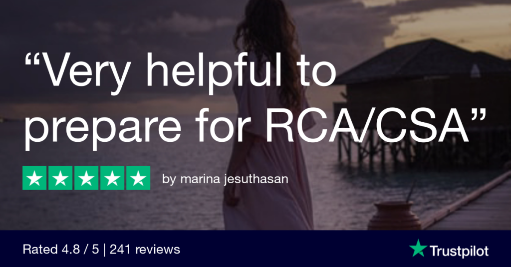Trustpilot Review marina jesuthasan - MRCGP CSA, AKT and PLAB Exam Courses and Online Webinars - Arora Medical Education