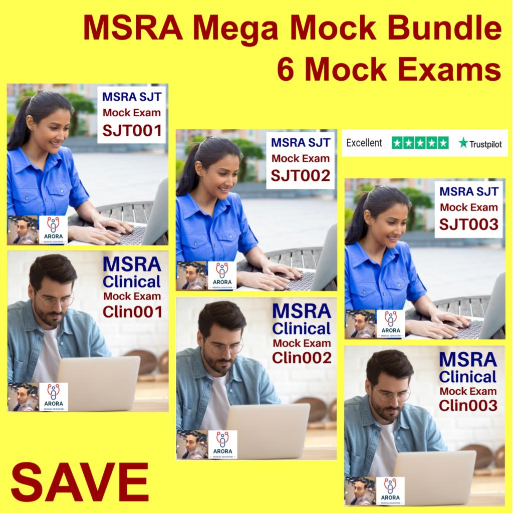 msra mega mock 2 - MRCGP CSA, AKT and PLAB Exam Courses and Online Webinars - Arora Medical Education