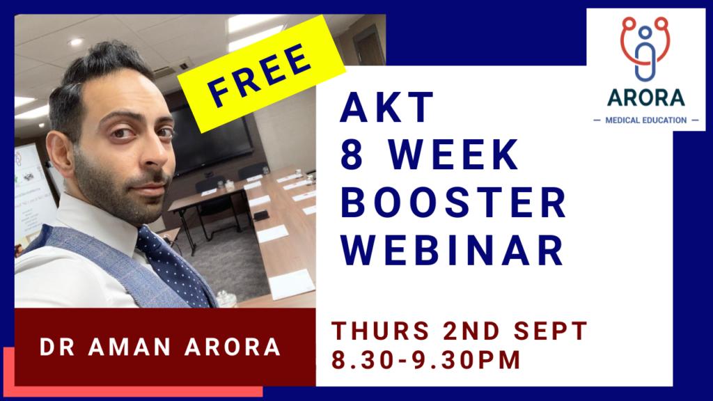 MSRA BOOSTER WEBINAR 11 - MRCGP CSA, AKT and PLAB Exam Courses and Online Webinars - Arora Medical Education