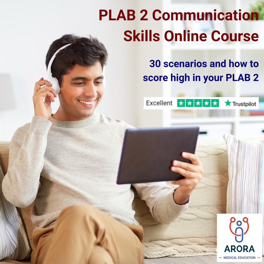 Virtual 3 - MRCGP CSA, AKT and PLAB Exam Courses and Online Webinars - Arora Medical Education
