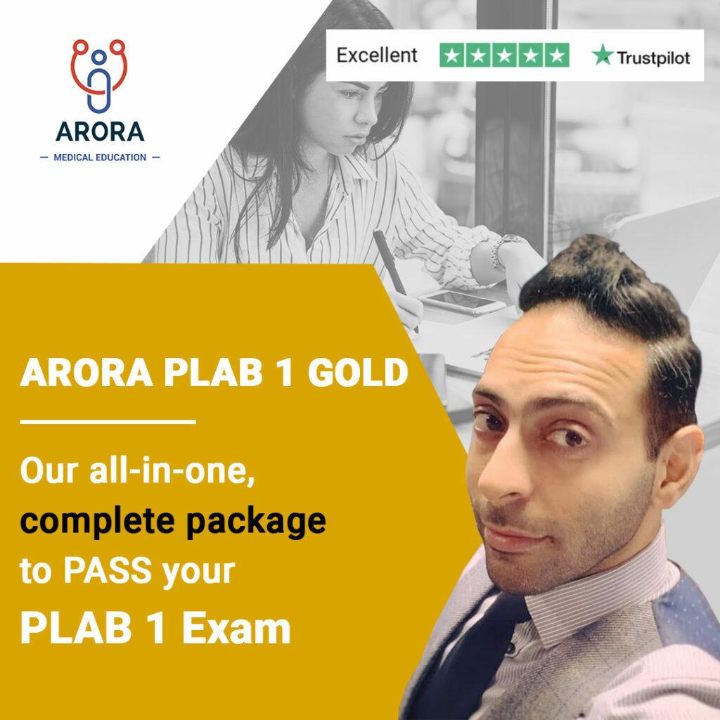 gold PLAB1 1024x1024 1 - MRCGP CSA, AKT and PLAB Exam Courses and Online Webinars - Arora Medical Education