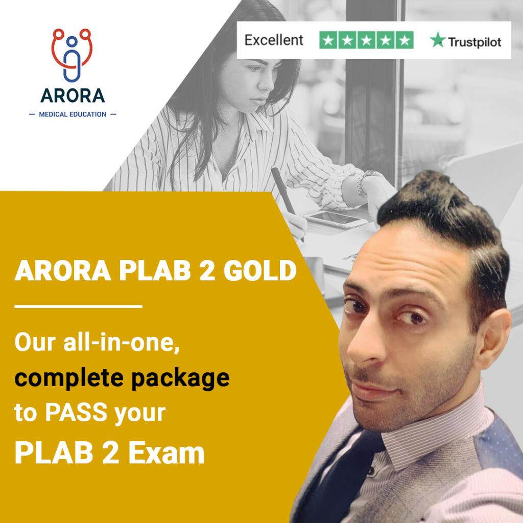 gold PLAB2 1 1024x1024 1 - MRCGP CSA, AKT and PLAB Exam Courses and Online Webinars - Arora Medical Education