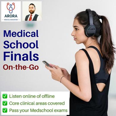 med school final 1 - MRCGP CSA, AKT and PLAB Exam Courses and Online Webinars - Arora Medical Education