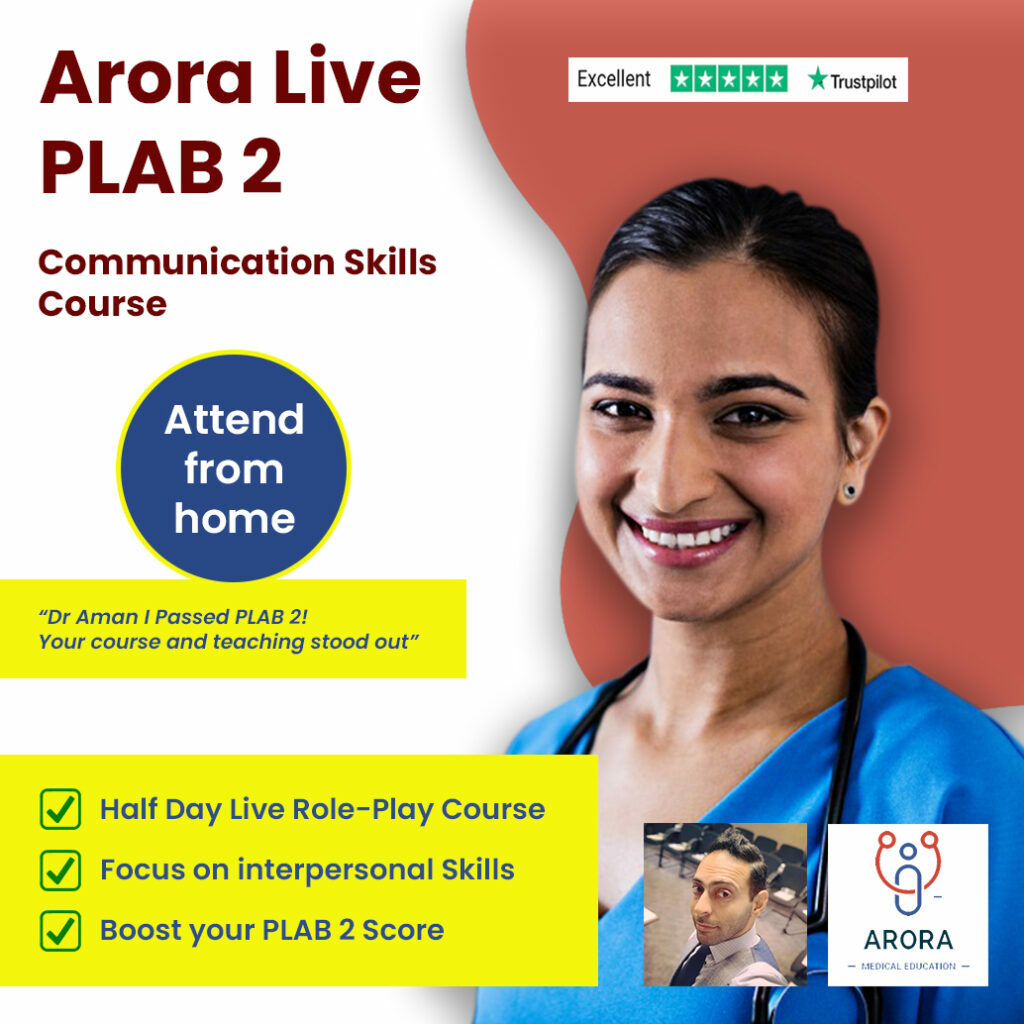 plab2 comm 1 1024x1024 1 - MRCGP CSA, AKT and PLAB Exam Courses and Online Webinars - Arora Medical Education