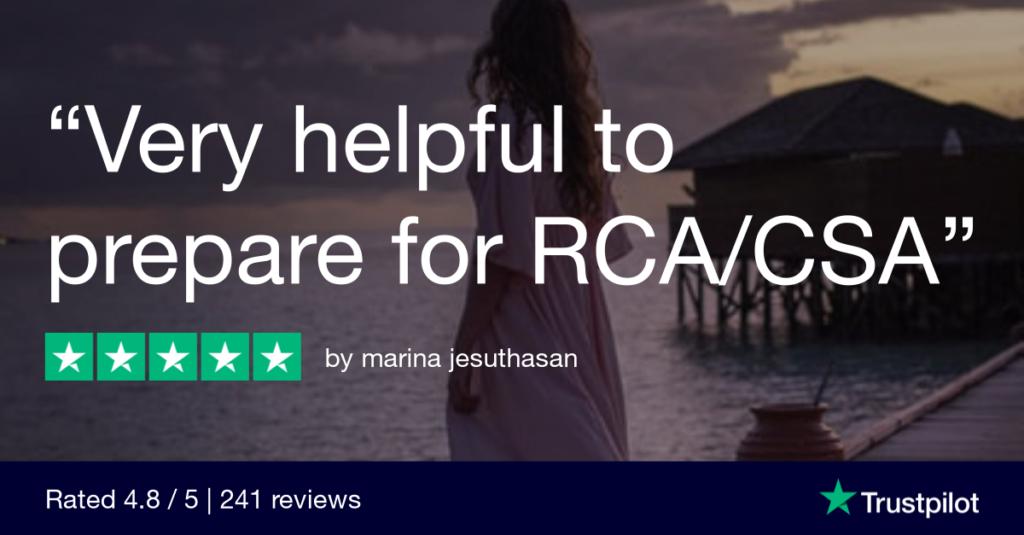 Trustpilot Review marina jesuthasan 3 - MRCGP CSA, AKT and PLAB Exam Courses and Online Webinars - Arora Medical Education